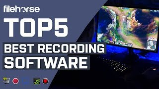 Top 5 Best Recording Software for Gaming (Windows)