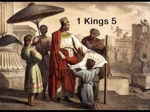 Image result for 1 kings 5