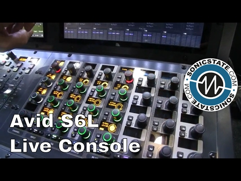 MESSE 2017: Avid S6L Console with Rob Allan Massive Attack FOH