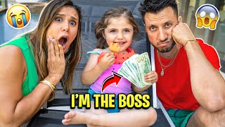 Our ADOPTED Daughter CONTROLS Our Life For A DAY! (we REGRET it) | The Royalty Family