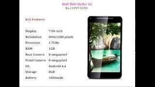 iBall Slide Stellar A2 Dual SIM Tablet for Rs. 11999