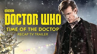 Repeat youtube video Doctor Who: The Time of the Doctor Recap BBC TV Trailer