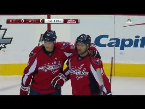 Senators at Capitals [01/10/16] Highlights 1:7
