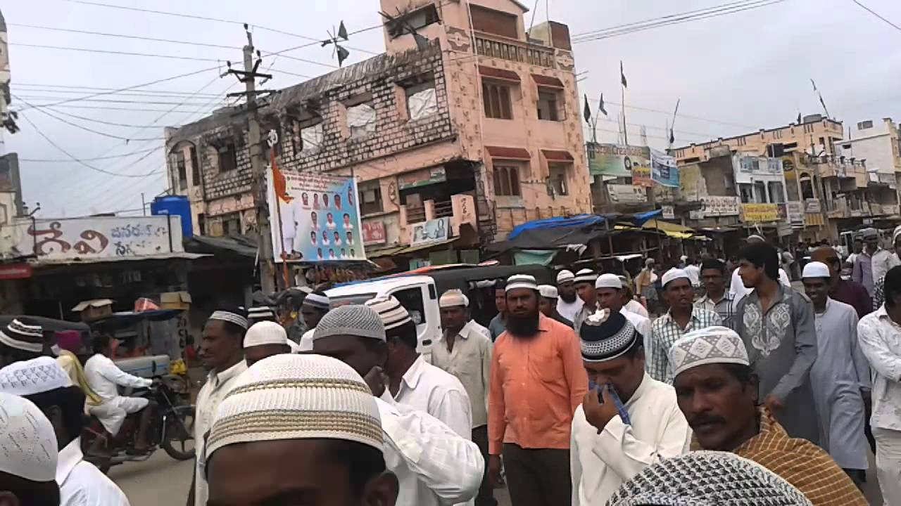 Achampet Muslims Rally And Speech About Sadiya Hyd Student Case