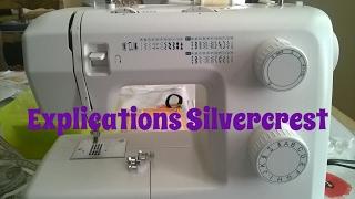 Explications et règlages de tous les boutons de la MAC Silvercrest