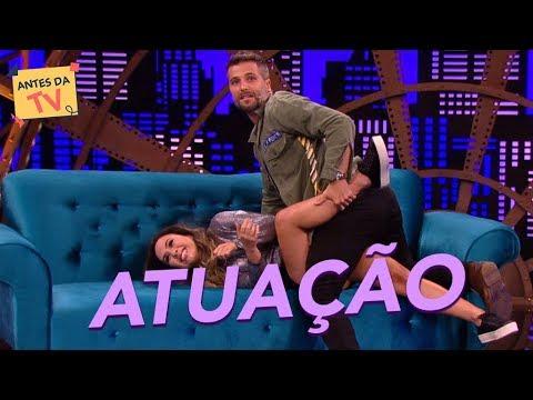 Bruno Gagliasso e Tatá Werneck em um quadro de tirar o fôlego  Lady Night  Humor Multishow