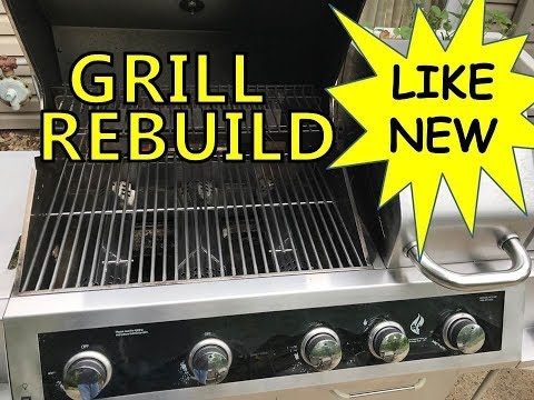 How to Refurbish a BBQ Grill - Rebuild and Save