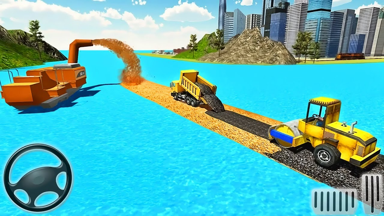 River Road Builder RoadWorks – 3D Construction Simulator – Android GamePlay