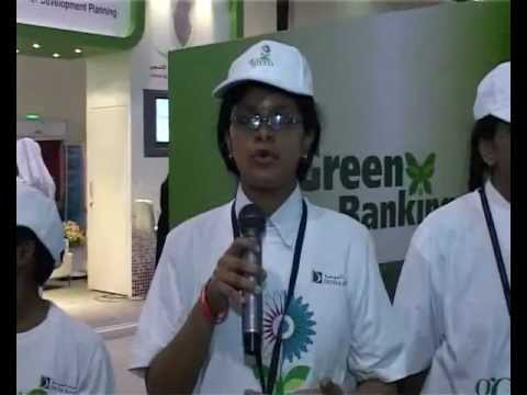 Doha Bank Green Activities & Interviews with Eco Students
