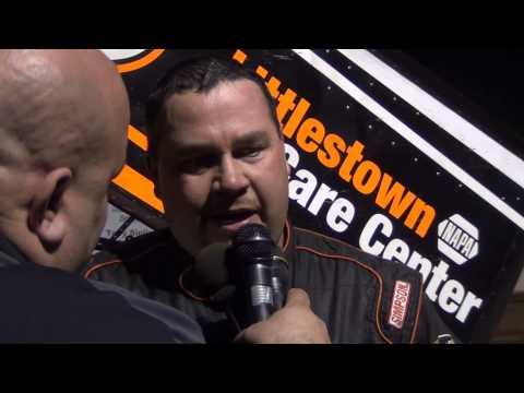 Susquehanna Speedway Park 358 Sprint Car Victory Lane 4-12-15