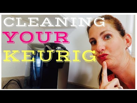 HOW TO DEEP CLEAN YOUR KEURIG | DEEP CLEAN COFFEE POT | QUICK AND EASY