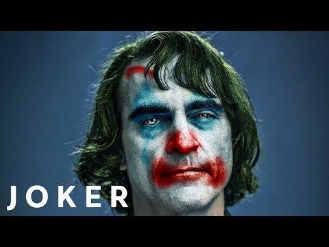 Joaquin Phoenix Joker  Face Paint Photoshop Tutorial