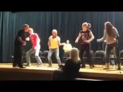 Marceline High School - Comedy Stage Hypnosis Show (Dancing)