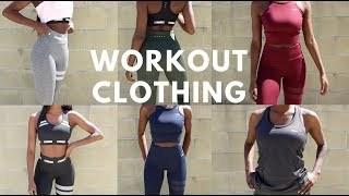 WORKOUT/ GYM CLOTHING TRY ON HAUL | Stronger