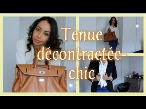 Ootd chemise blanche tenue d contract e chic youtube - Tenue chic et decontractee ...