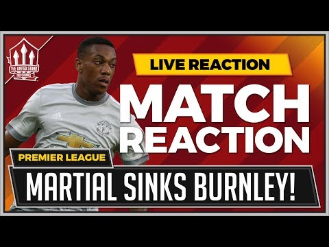 Burnley 0-1 Manchester United | Anthony MARTIAL Goal Wins It!