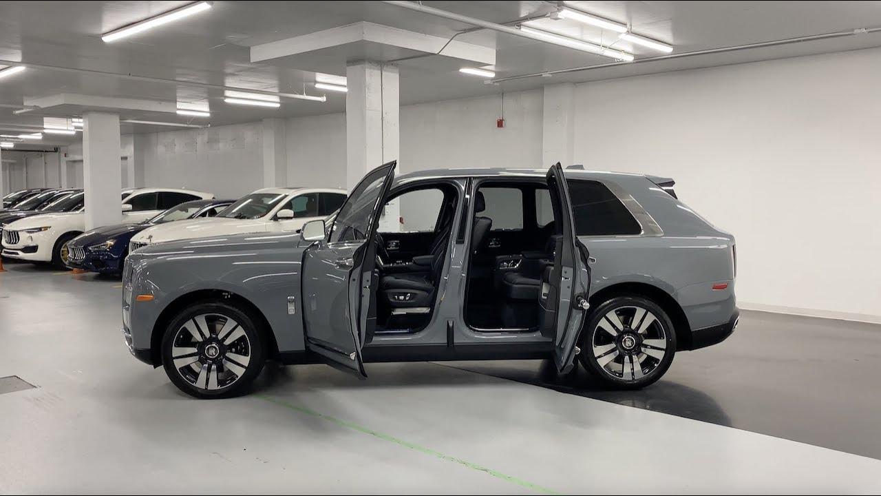 2020 Rolls-Royce Cullinan Burnout Grey - Walkaround in 4k