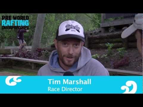 Interview Tim Marshall - Race Director Pre Worlds Rafting