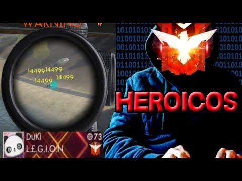 GANANDO A HACKERS HEROICOS !INCREIBLE! OMG - FREE FIRE REVISA MI CASO :v