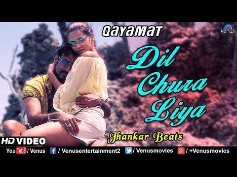 Dil Chura Liya - JHANKAR BEATS   Ajay Devgan & Neha Dhupia   Qayamat   90's Bollywood Romantic Songs