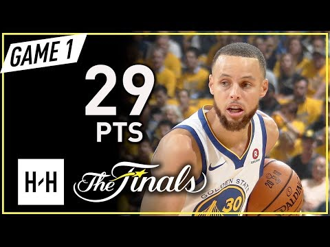 Stephen Curry Full Game 1 Highlights vs Cavaliers 2018 NBA Finals - 29 Pts, 9 Ast, CLUTCH!