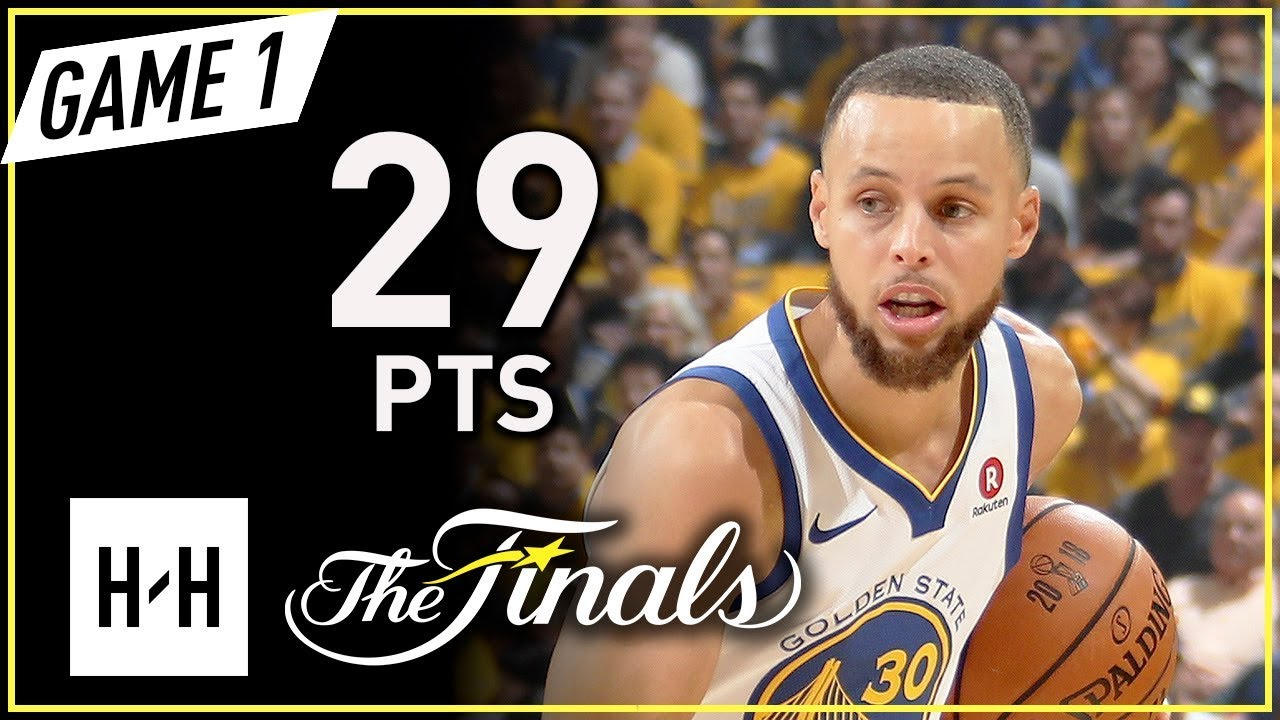 596b0c902945 Stephen Curry Full Game 1 Highlights vs Cavaliers 2018 NBA Finals - 29 Pts