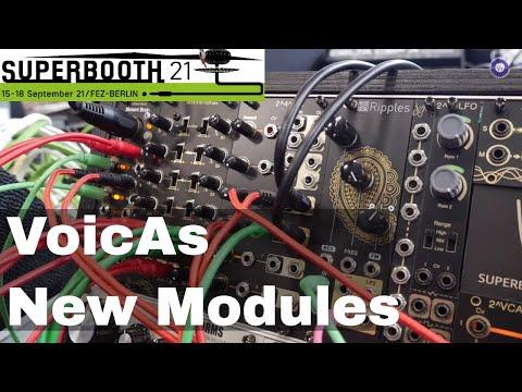 SUPERBOOTH 2021 - VoicAs Modular - New Modules