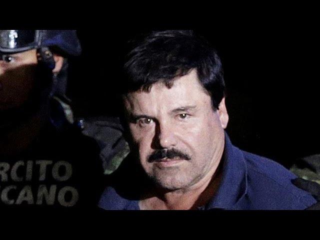 """Наркобарон """"Эль Чапо"""" экстрадирован в США"""