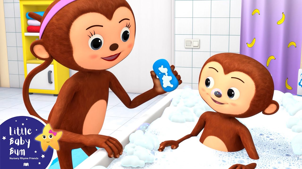 Bath Time Song   Little Baby Bum - New Nursery Rhymes for Kids