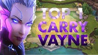 TFT TOP 1 Vayne Carry GOLD - Vyks