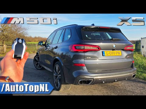 2020 BMW X5 M50i REVIEW on ROAD & AUTOBAHN (NO SPEED LIMIT) by AutoTopNL