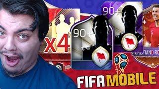 2 AŞAMA ile MİLLİ TAKIM MORARDI Fifa Mobile Dünya Kupası