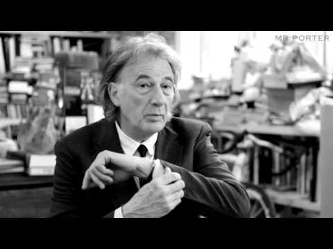 Sir Paul Smith On Interesting Touches To Men's Attire - Video Manual - MR PORTER