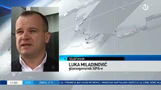 Radio televizija Bosne i Hercegovine (Dnevnik, prilog 05. jula 2021 Vreme: 22:50)