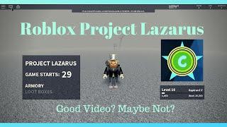 [ROBLOX] Project Lazarus #1 [Fake Cod Zombies]