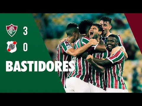 FluTV - Bastidores - Fluminense 3 x 0 Nacional-BOL - Copa Sul-Americana