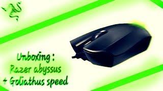 Razer abyssus 1800 + Goliathus Small Speed