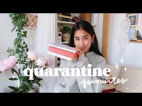 quarantine favourites | books, tv shows, podcasts & more !!