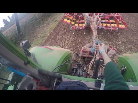 Drilling Headlands - Fendt 724 - GoPro HD