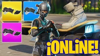 AMAZING BUG! MONOPATIN APPEARS WHEN PLAYING Fortnite Battle Royale!! NEW VEHICLE ONLINE!?