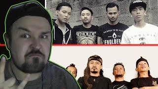 Jasad - Siliwangi + Revenge The Fate - Continuous DOUBLE INDONESIAN BANDS REACTION #3