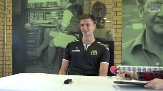 INTERVIEW | Max Hunt pre-Stockport County