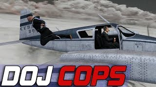 Dept. of Justice Cops #561 - Extreme Parachuting