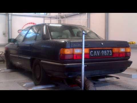 Audi 200 C3 Typ44 2.1 10v JY turbo quattro 1984 on dyno