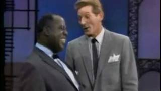 "Louis Armstrong & Danny Kaye, ""When the saints go marching in"""