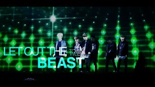 live exo「let out the beast」special edit from smtown week christmas wonderland