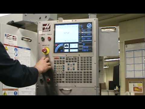 Haas Mill Control panel.mpg - YouTube
