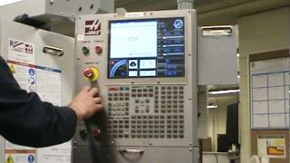 Haas Mill Control panel.mpg
