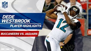 Every Reception from Dede Westbrook's 131-Yard Game | Bucs vs. Jags | Preseason Wk 2 Highlights