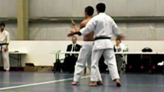 Uechi Ryu Karate - Sanchin Test